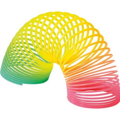 Slinky fjeder - plast Ø 5 cm
