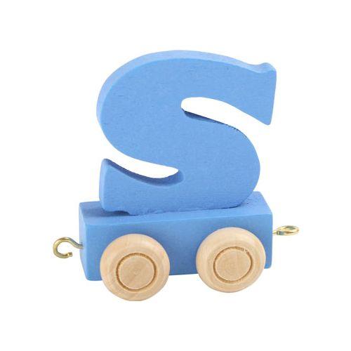 Small Foot Navnetog - Bogstav S i Blå