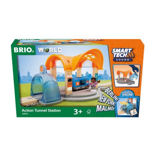 Brio Smart Tech Sound - Aktion tunnel station