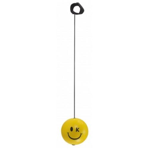 Kuenen Bungee Ball med Smiley - Ø6,2 cm