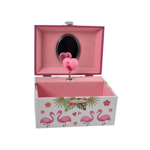 Smykkeskrin med musik, Flamingo