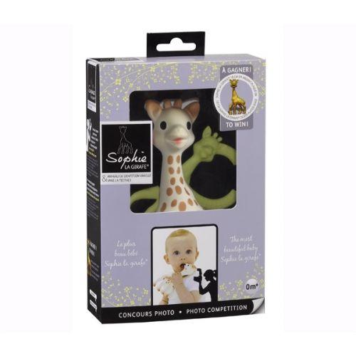 Sophie La Girafe - Gaveæske m. bidering og giraf