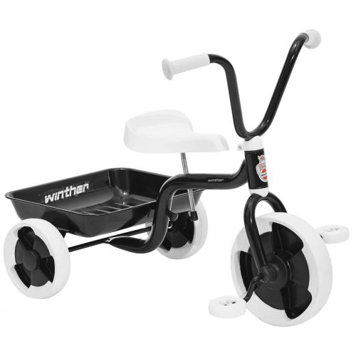 Winther 3-hjulet cykel - Sort