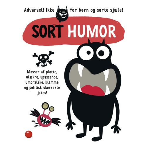 Sort humor - masser af platte jokes