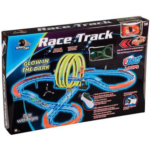 SpeedCar Racetrack m. dbl. Loop
