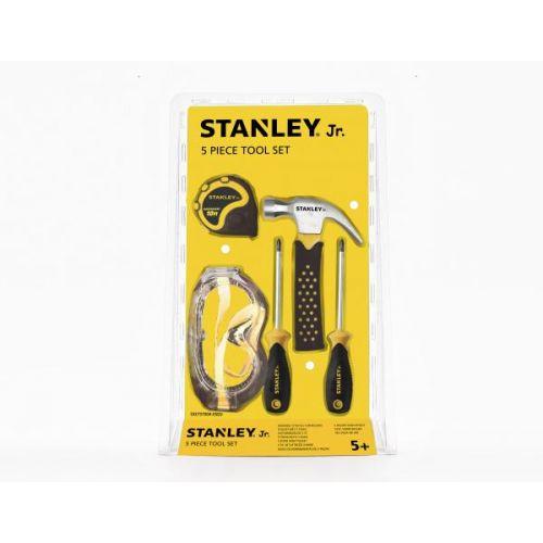 Stanley Jr. Værktøjssæt m. 5 stk. inkl. målebånd