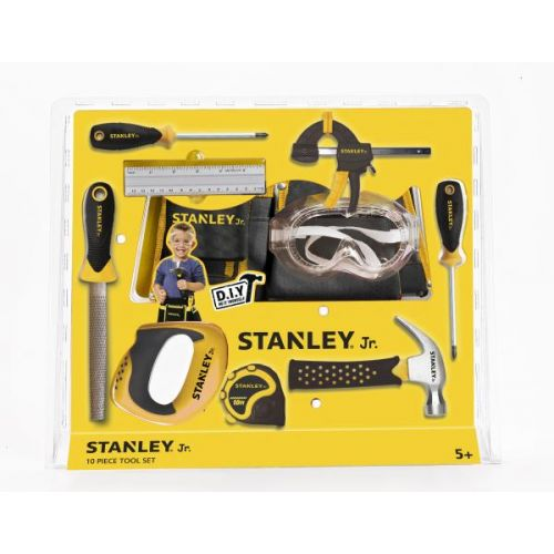 Stanley Jr. Værktøjssæt m. 10 dele