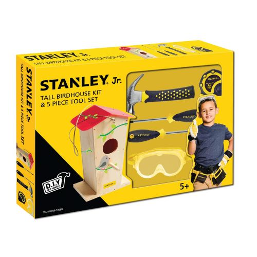 Stanley Jr. Deluxe Tool Set and Birdhouse Kit