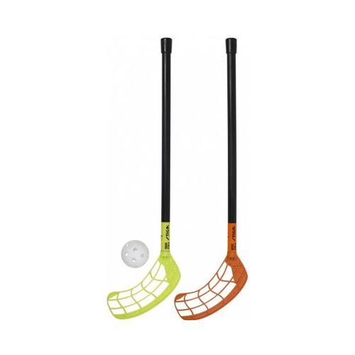 Stiga Floorball/Hockey Sæt - 2 stave og bold