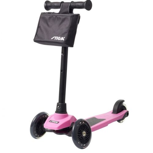 Stiga Løbehjul Mini Kick Supreme - Pink