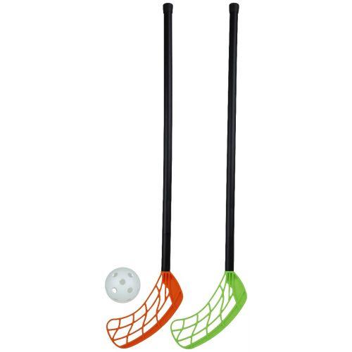 Stiga Floorball/Hockey m. 2 stave og bold