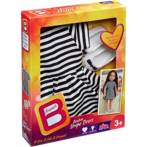 Bfriends Breton Stripe Dress - Sæt med kjole og sko