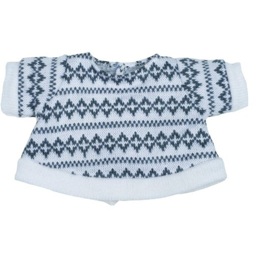 Rubens Kids - hvid og lysergrå Sweater