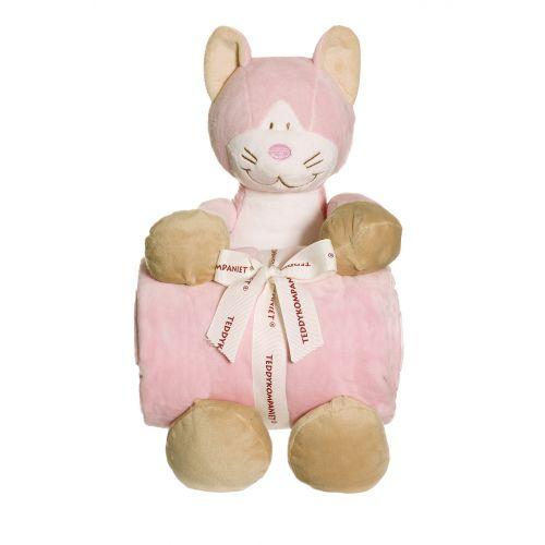 Teddykompaniet Diinglisar - Kat m. Tæppe