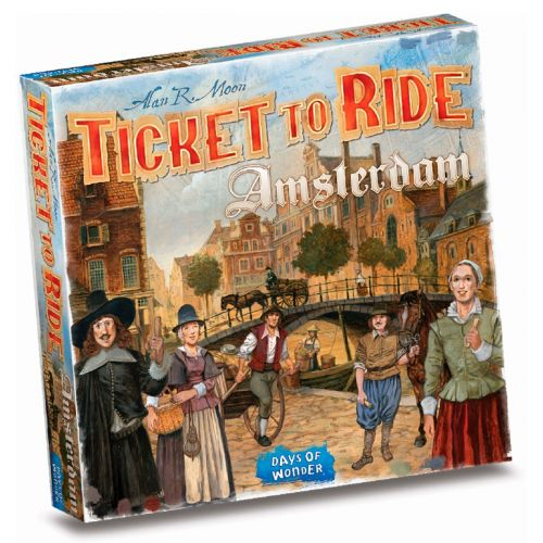 Ticket To Ride Amsterdam  - Sjovt familie spil