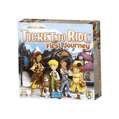 Ticket To Ride First Journey  - Årets børnespil 2017