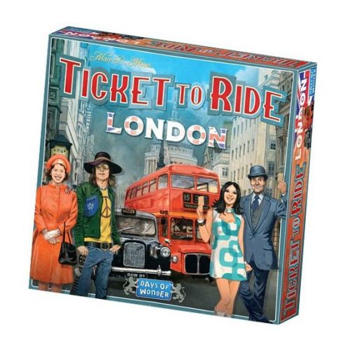 Ticket To Ride London  - Sjovt familie spil