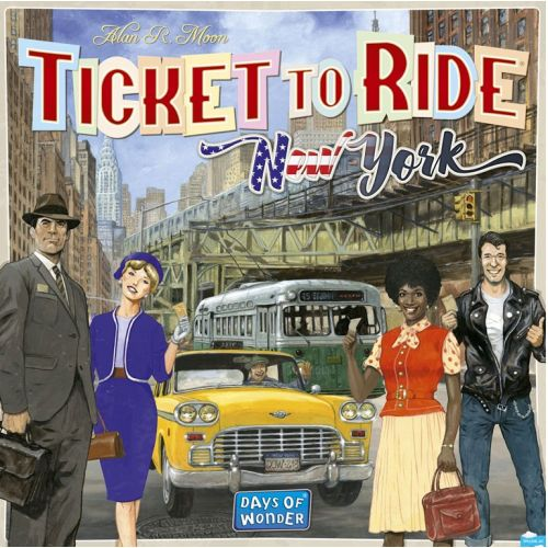 Ticket To Ride New York  - Sjovt familie spil