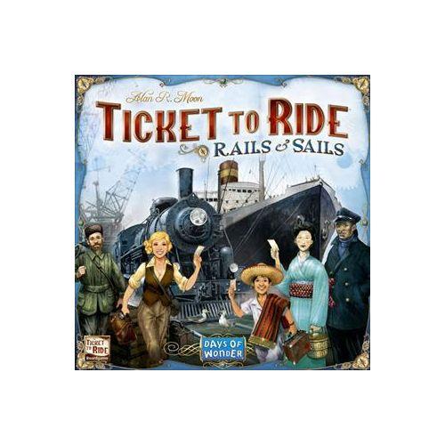 Ticket To Ride Rails and Sails  - Sjovt familie spil