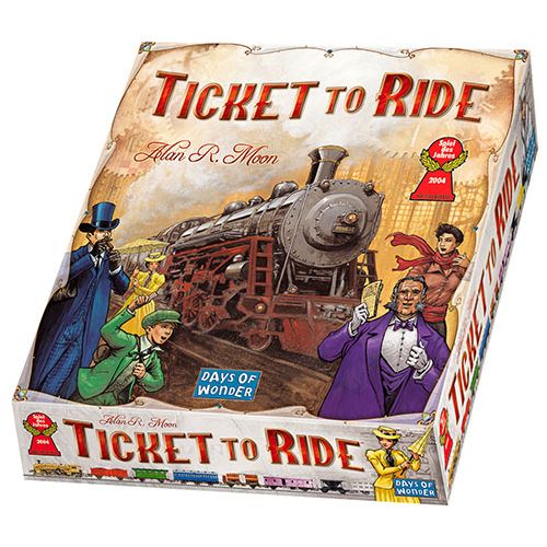 Ticket To Ride USA - Sjovt familie spil