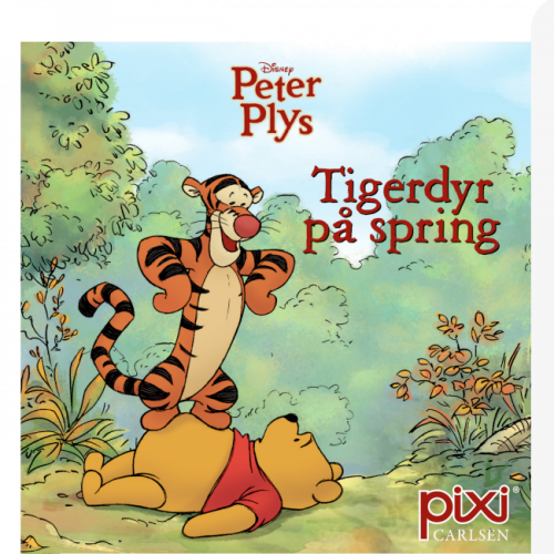 Peter Plys - Tigerdyr på spring - Pixi bog