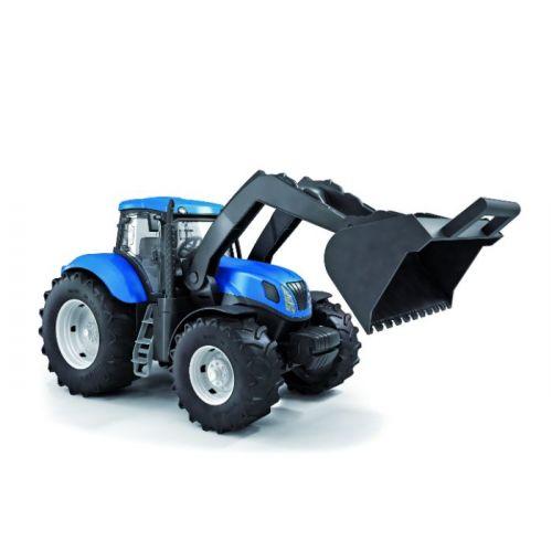 New Holland Traktor 40 cm m. Gummihjul og Grab