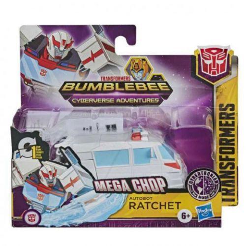 Transformers Bumblebee - Cyberverse Adventures - Mega Chop