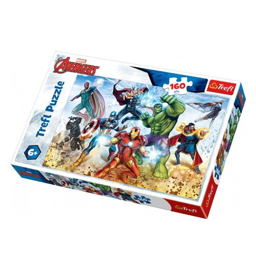 Trefl Puslespil - Avengers ready to save the world m. 160 brikker