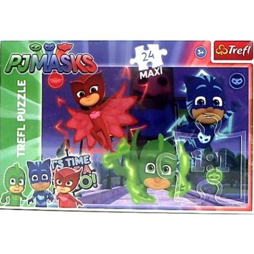Trefl Pyjamas Heltene Maxi Puslespil - 24 brikker