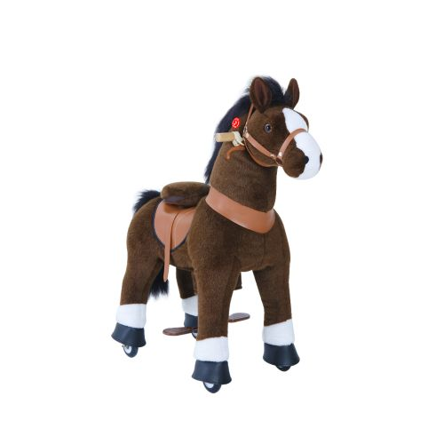 PonyCycle Small Mekanisk Pony Chokolade brun - Ux serien