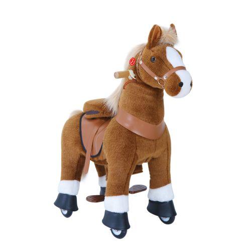 PonyCycle Medium Mekanisk Pony Lys Brun - Ux-Serien