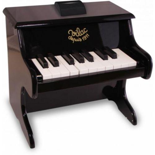 Vilac klaver, børneklaver - sort