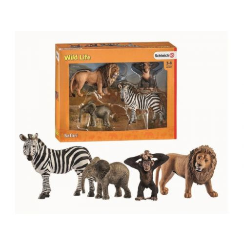 Schleich Wild Life - Starter sæt - 4 dyr