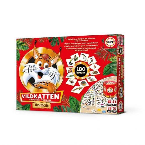 Vildkatten Animals - Brætspil - 150 brikker