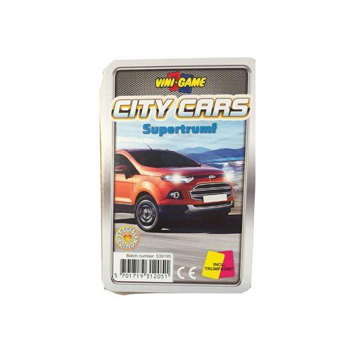 Vini Game Bilkort Spil - City Cars