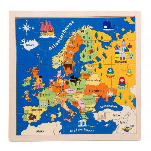Vini Game Europa Puslespil