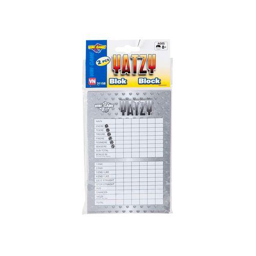 Vini Game Yatzy Blok - 2 stk.