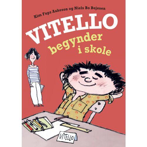 Vitello begynder i skole af Kim Fupz Aakeson - indbundet