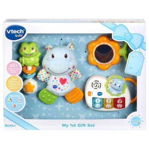 Vtech Baby - 4-i-1 Gavesæt - blå