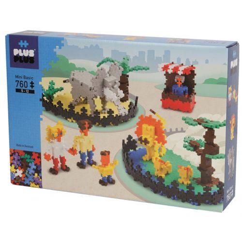 Plus-Plus basic Zoo - 760 stk.