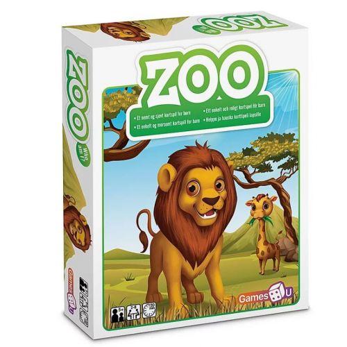 Zoo spil - Sjovt kortspil t. børn
