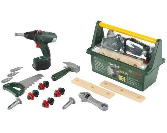 Bosch Værktøjskasse til børn m. 12 dele