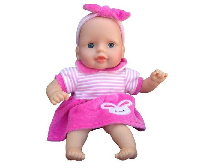 Mini Mommy Dukke Ida 30 cm med kanin på kjolen