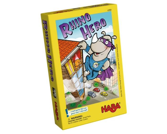 Haba Rhino Hero rejsestørrelse