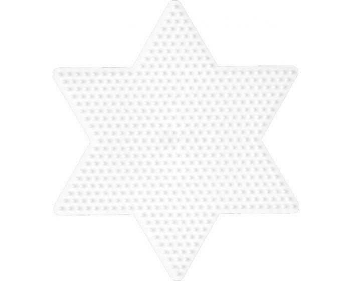 Hama perleplade, stor stjerne