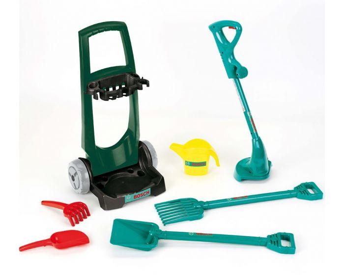Bosch Havevogn til børn m. skovl og rive - 7 dele