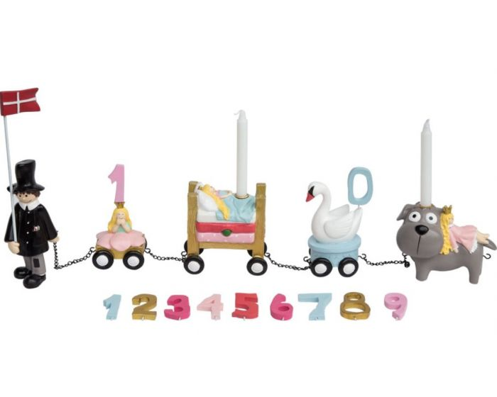 H.C. Andersen fødselsdagstog - pige - Kids By Friis