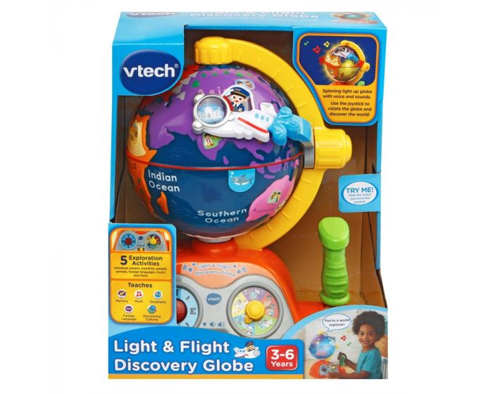 Vtech Baby - Udforsknings Globus kasse