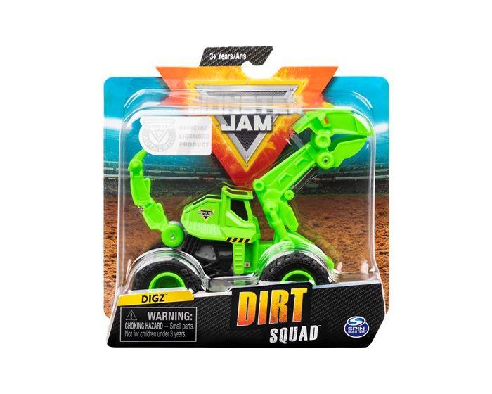 Monster Jam Dirt Squad - Dozer - assorteret grøn