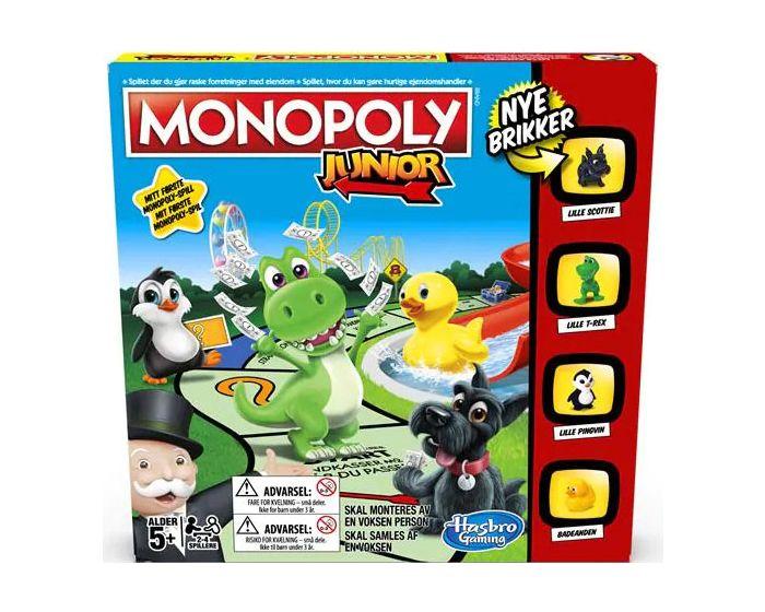 Monopoly Junior DK - Ny edition Hasbro Spil